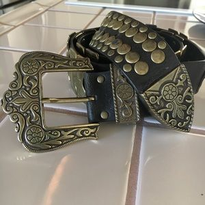 Accessories - Bronze Boho Western Belt